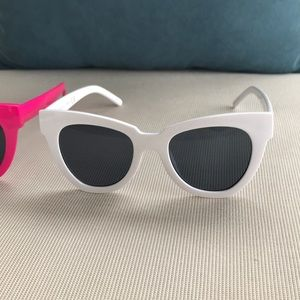 Free People Accessories - TWO Pairs of Free People Zoe Angular Sunglasses